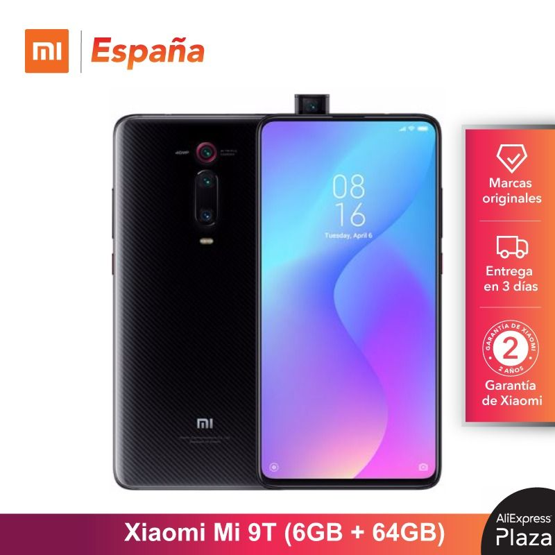 Legend Coupon Xiaomi-Mi-9T-64GB-ROM-6GB-RAM-Triple-cámara-de-48-MP-Android-Nuevo-Libre-Teléfono Smart phone