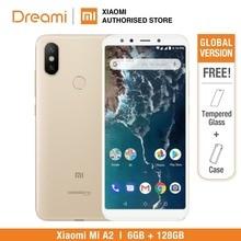 نسخة عالمية من الهاتف المحمول شاومي Mi A2 128GB ROM 6GB RAM (العلامة التجارية الجديدة ومختومة) Mia2 128gb الهاتف الذكي