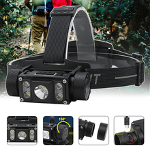 New Boruit B50 1200LM LED Head Flashlight L2 LED Headlamp 21700 Water proof Camping Fishing Led Head Lamp