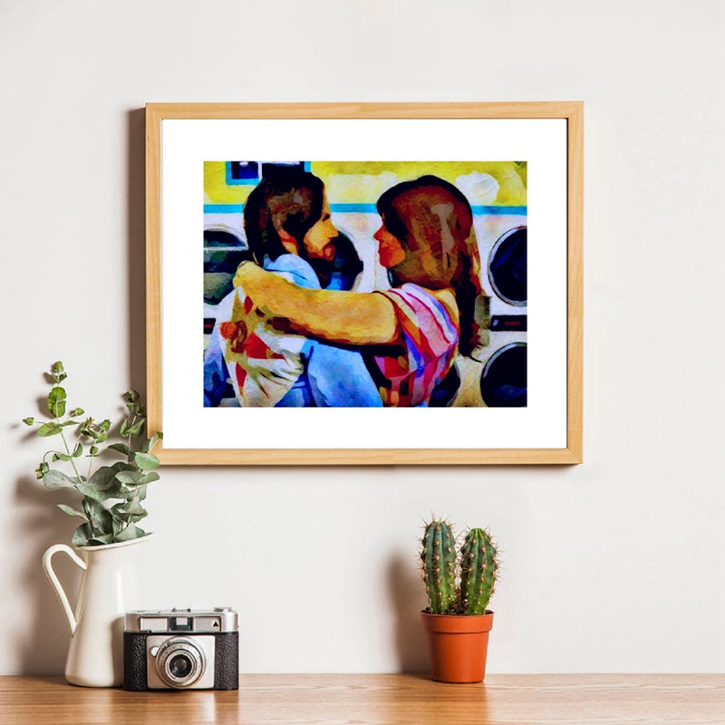 JACK AND REBECCA Inspired by This Is Us Canvas Prints Home Decor