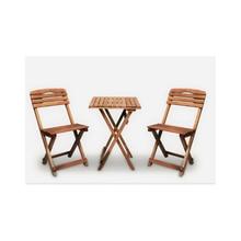 Decor Garden Kitchen Balcony Triple Bistro Set 2 Chairs 1 Table