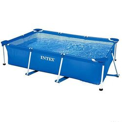 Intex Pool gerüst rechteckigen rahmen 260 x160х65см
