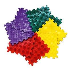 Massage matte Ortho Puzzle modular Mix Igel