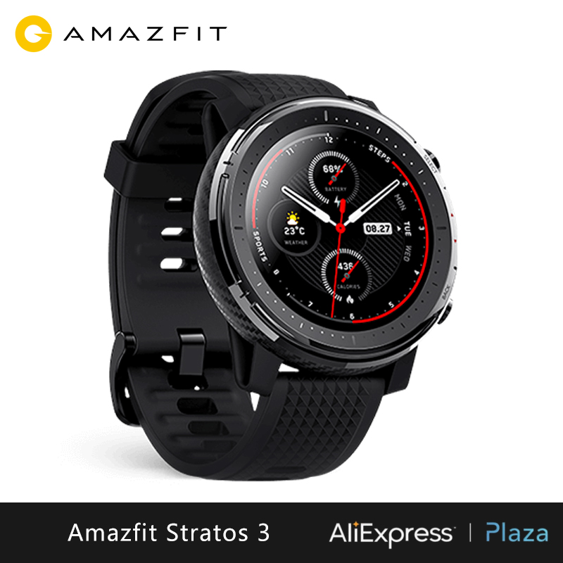 Xiao mi Hua mi Amazfit Stratos 3 montre intelligente (montre intelligente bluetooth GPS sport android IOS mi montre) [Version mondiale] - 3