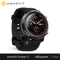 Xiaomi Huami Amazfit Stratos 3 smart watch (reloj inteligente Bluetooth GPS deporte android IOS mi watch) [Versión Global]