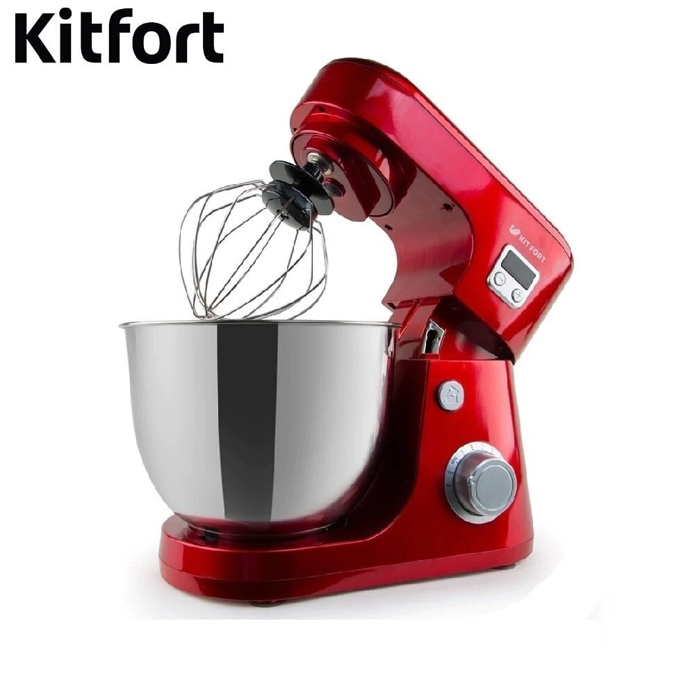 Food Mixer electric kitchen KITFORT KT-1308 Cocktail shaker mixers Planetary mixer Dough Mixer with bowl Kitchen machine food mixers delta 0r 00003459 mixer for kitchen appliances for home dl 5070p electric planetary dough with bowl