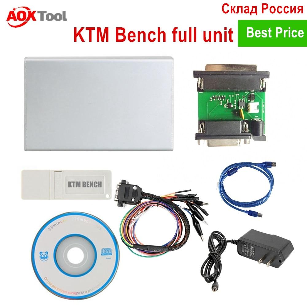 ECU Programmer KTM BENCH V1 20 Read and Write ECU Via Boot Bench V1 99 KTM-Bench Flash EEPROM for boot bench