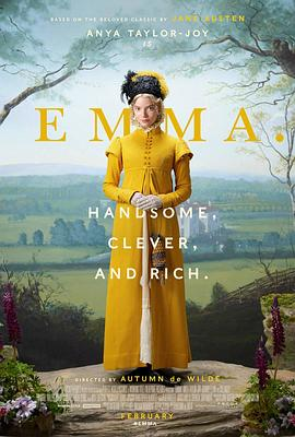 爱玛的海报