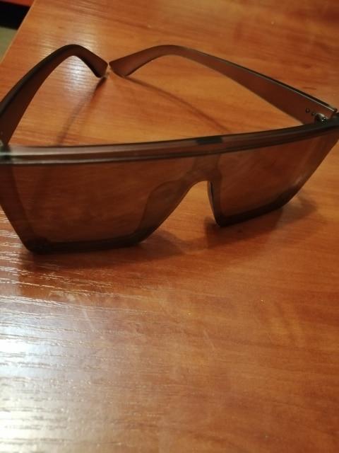Oversized Geometric Design Sunglasses photo review