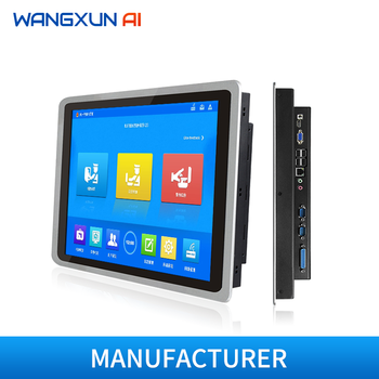 10.4/12.1/15/17/19''industrial all in one pc with capacitive touch  screen embedded touch panel  tablet pc for Linux/Win10pro 1