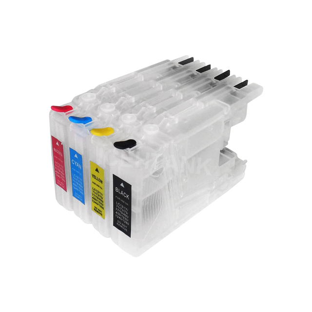 ICEHTANK LC-75 Printer Ink Cartridge + 400ml Ink For Brother LC12 LC40 LC71 LC73 LC75 LC400 LC1220 LC1240 DCP J525N J540N J740N
