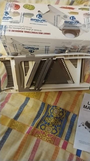 Manual Multifunction Mandoline Slicer photo review