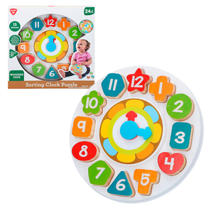 Zamów dziecko drewniany zegar PlayGo