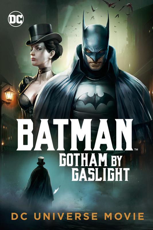 蝙蝠俠:煤氣燈下的哥譚的海報