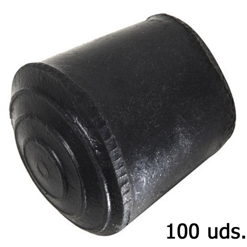 Cone Rubber Taper 15mm. Bag 100 Pcs
