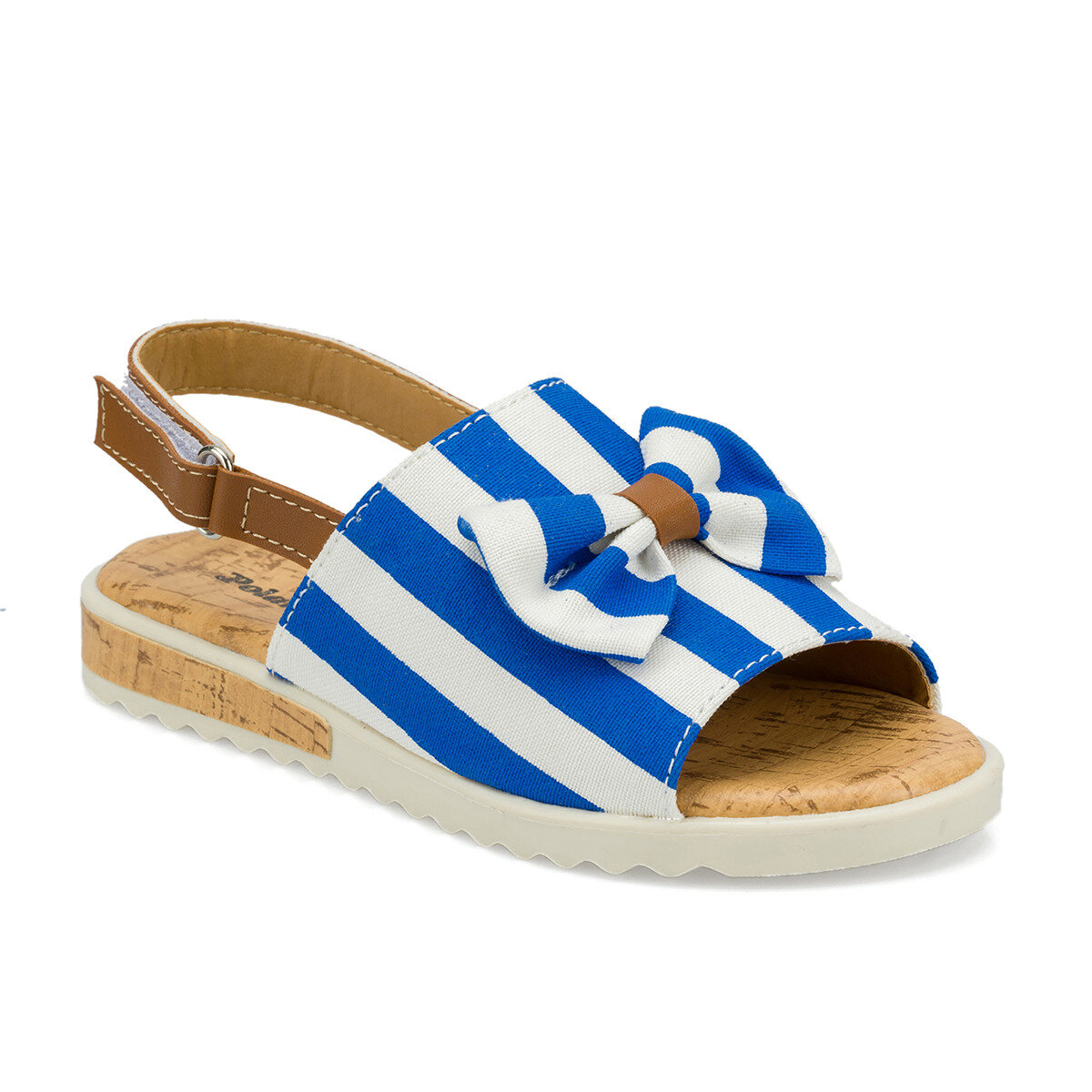 FLO 512481.F Blue Girl Child Sandals Polaris