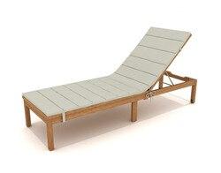 Kingsbury Liege Garten Mit Räder Eukalyptus Holz-50021001165753