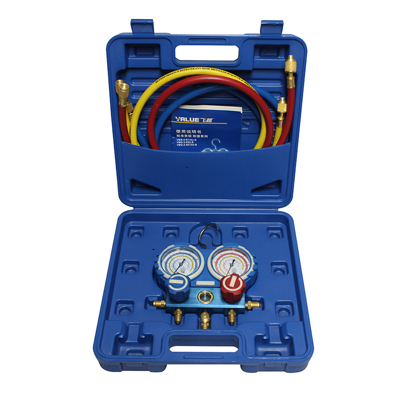 Pressure Gauge Designed For Refrigeration Systems And Air Conditioning VMG-2-R410A