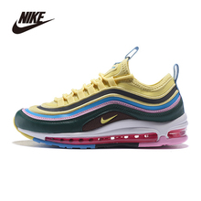 Cushioning Sports-Sneakers Running-Shoes Air-Max Original Nike Breathable Outdoor Men