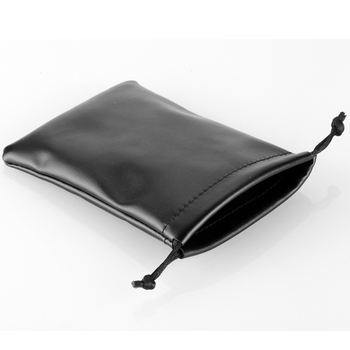 wholesale customized velvet PU leather bag for rings & bracelets & necklace PU bag Jewelry package high quality