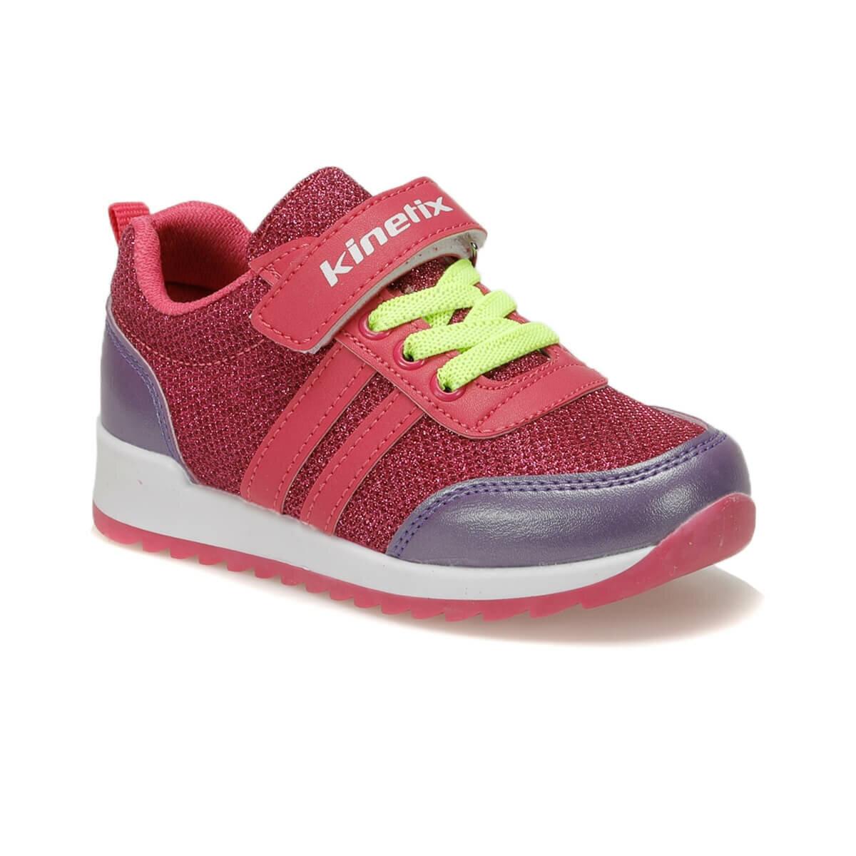 FLO VANES Fuchsia Female Child Sneaker Shoes KINETIX