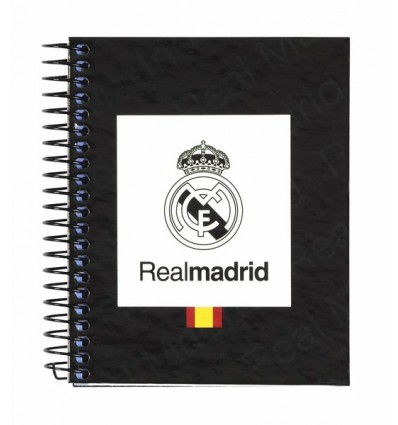 NOTEPAD A7 100 LEAVES REAL MADRID