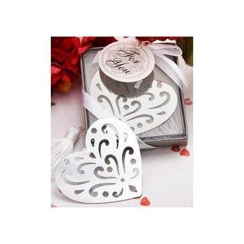 Elegante Punto Libro Corazón elegancia en Caja Regalo - Detalles de recuerdos...