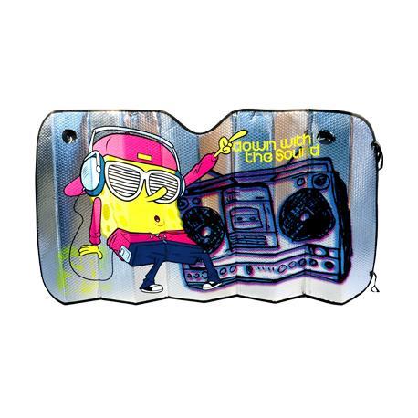 Ombrellone attacco alluminato auto SpongeBob Rosso 130x70 cm