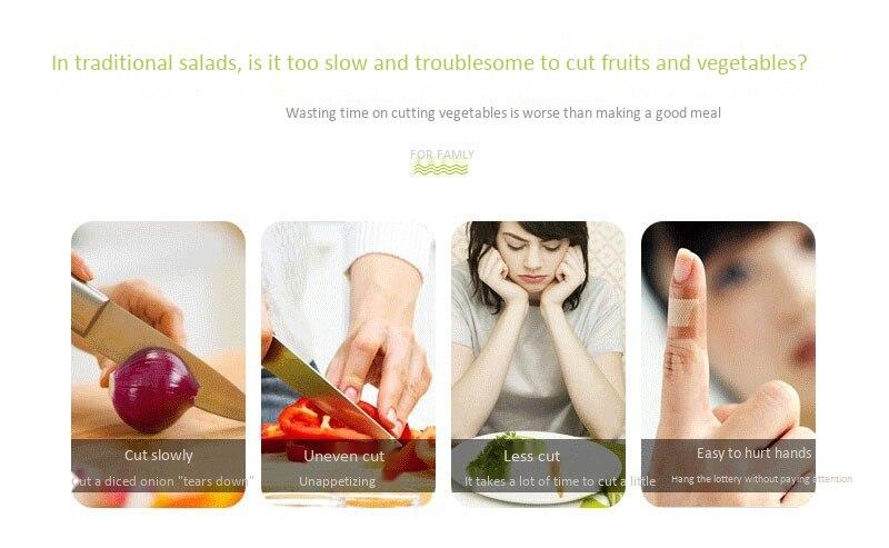 Fruits & Vegetables Cutter Bowl