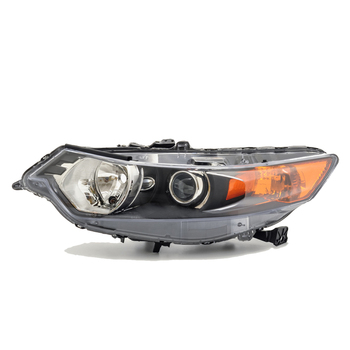 Headlight LEFT for HONDA ACCORD 2008 2009 2010 Left Driver Side - dark, electric leveling included