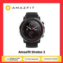 Amazfit Stratos 3 Smartwatch (Reloj Inteligente,Bluetooth GPS,Deporte Android,IOS,Mi Watch para Smartphone) [Versión Global]