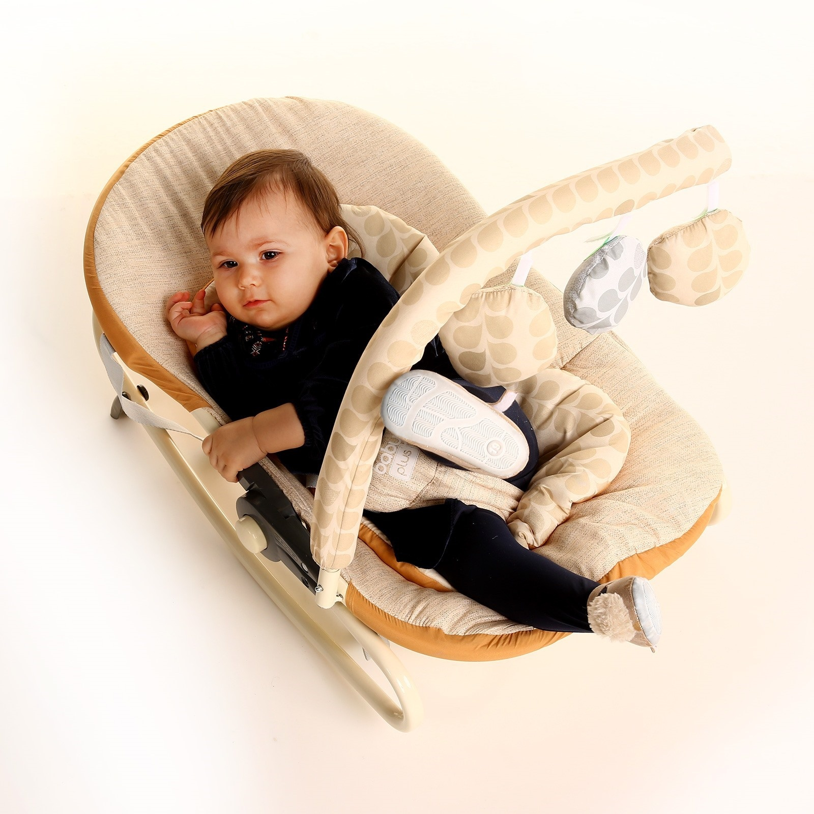Ebebek Baby&plus Lounge Baby Bouncer Chair With Toys