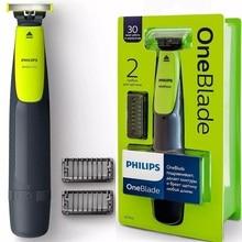 Philips OneBlade QP2510/11 Original Elektrische Wiederaufladbare Rasierer rasierer Bart Haar Trimmer Cut Waschbar Abnehmbare Präzision Männer