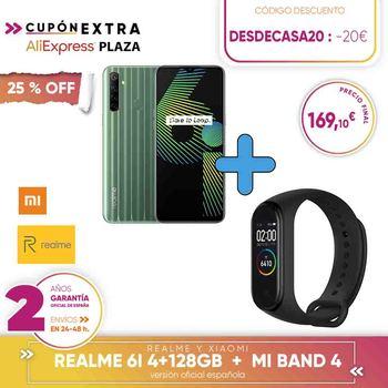 [Official Spanish version warranty] Realme 6i 4 + 128-GB, helium G80,4 still cameras // Realme C3 3 + 64GB,MediaTek Helio G70, resolution HD +