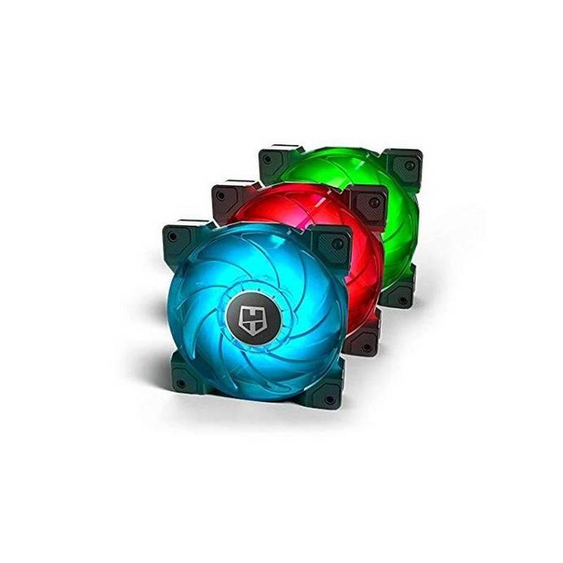 Case Fan NOX NXHUMMERHSYNC (3 Pcs) 3 W LED