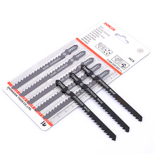 Citop 5pcs/set  T144D/T244D/T111C Saw Blade Tooth Reciprocating Saw Blade  For Wood Plaster Acrylic Cutting Fast Cutting Tools