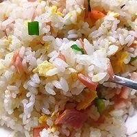 #安佳食力召集,力挺新一年#火腿蛋炒饭的做法图解12