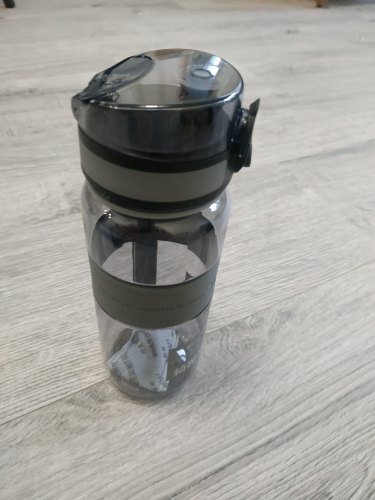 UZSPACE Water Bottles Popular Gray Men Outdoor Sports Travel My Drink Bottle Portable Leakproof Plastic Gourde Bottle BPA Free-in Water Bottles from Home & Garden on AliExpress