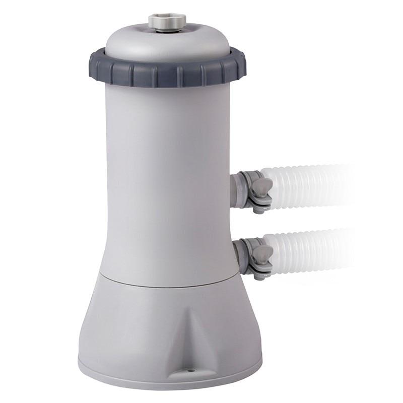 Картриджный Filter Pump 3785 L/H, 220-240 Volt, Intex, To Clean Water In The Pool, Item No. 28638