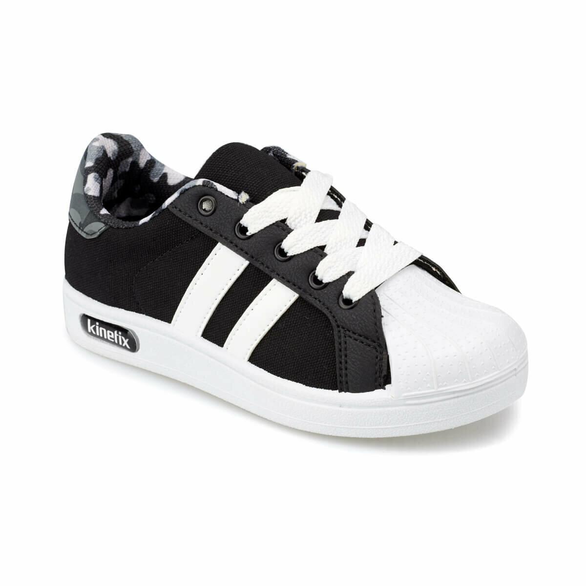 FLO RENDRO X Black Male Child Sneaker Shoes KINETIX