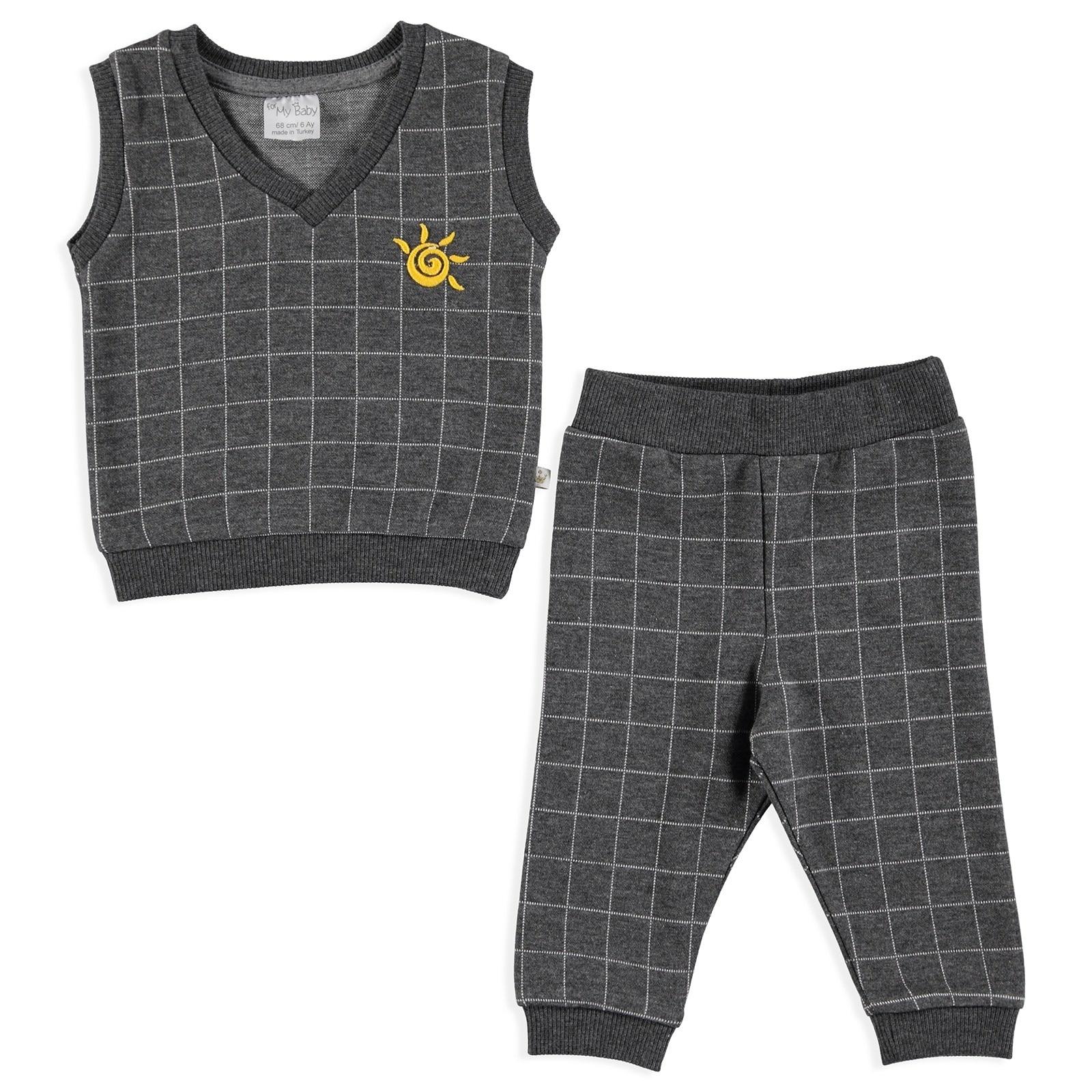 Ebebek For My Baby Winter Smile Sweater Pants 2 Pcs Set