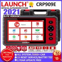 LAUNCH-herramienta de diagnóstico de coche X431 CRP909E, Sistema completo OBD2, lector de código, escáner con 15 servicios de reinicio, actualización en línea