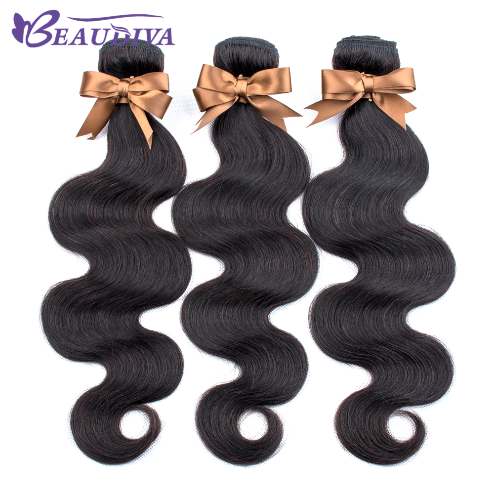 U9b528be306fb4732a7adec9e82e37b3cU BEAUDIVA Brazilian Hair Body Wave 3 Bundles With Closure Human Hair Bundles With Closure Lace Closure Remy Human Hair Extension