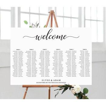 Personalizzato Di Nozze Segno Di Benvenuto Con Ospite Lista In Legno Di Benvenuto Bordo Del Segno Personalizzato Nome Dell'ospite Tabella Di Legno Da Sposa Segni Di Bordo