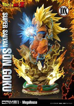 Original Dragon Ball Z Statue Super saiyan Figure Son Goku Deluxe Version 64 cm Prime 1 Studio Pre Order