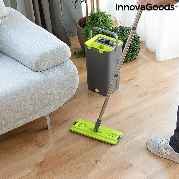 Mop With Dual Action Bucket Swiftmop InnovaGoods