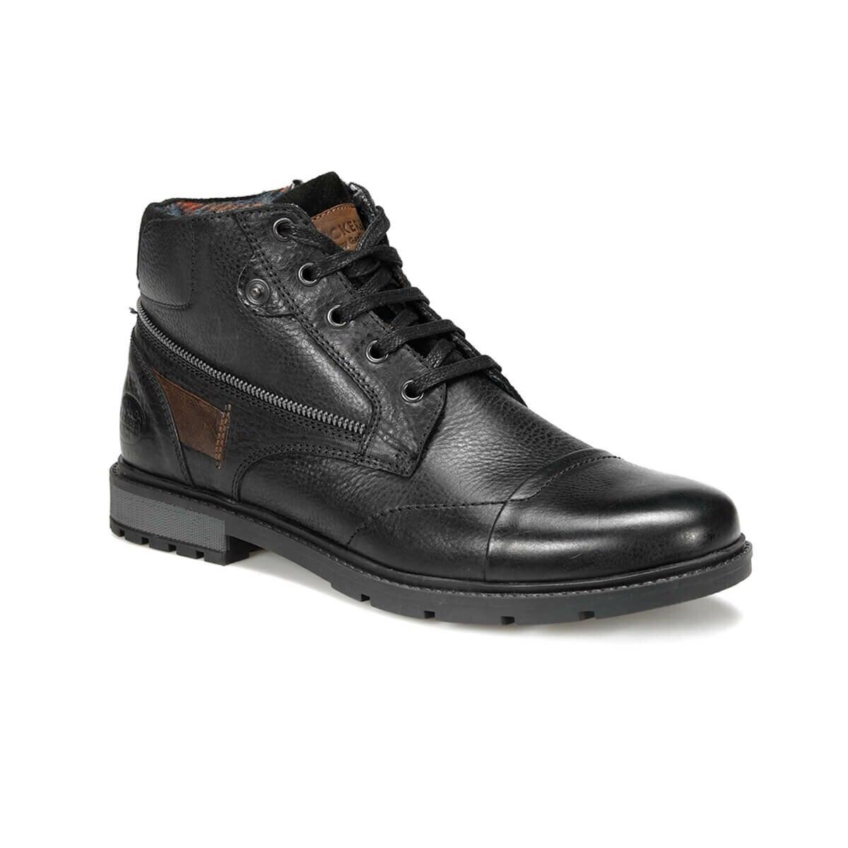 FLO 227175 9PR Black Men Boots By Dockers The Gerle