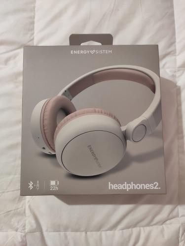 Energy Sistem Headphones 2 Bluetooth(Auriculares inalámbricos extra cómodos, Circumaural, Plegable, batería Recargable,Audio-in)