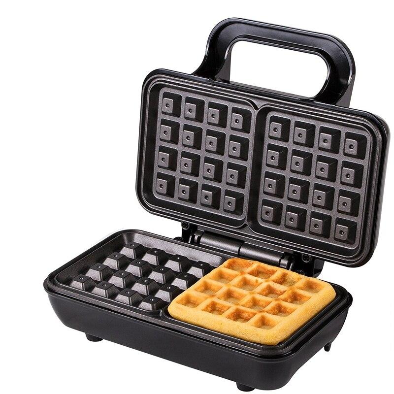 Waffle Maker First FA-5305-4 Black (Bentwood waffle, power 700 W, non-stick coating) coating waffle first fa 5305 3 black