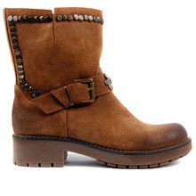 Sail Lakers Tan Women Suede Vintage Boots Genuine Leather Women Boots Wedge Autumn Winter 2019 Hot New Boots Shoes Woman Fashion Ladies Shoes Casual Female Ankle Boots Made in Turkey zapatos de mujer